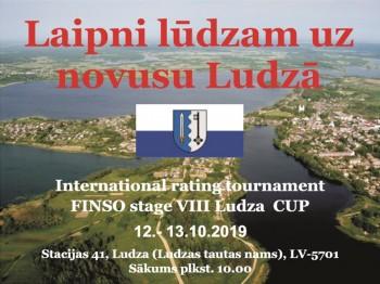 FINSO rezultāti. Pasaules Kausa VIII posms Ludzā. 12.-13.10.19.