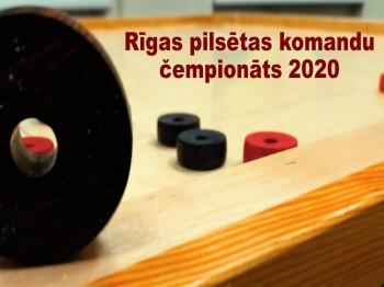 Nolikums. Rīgas pilsētas 2020.gada komandu čempionāts.